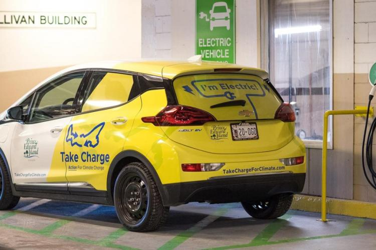 New electric car for provincial government fleet