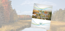 Thumbnail of cover of Progress Report for Climate Change Action Plan with image of fall folliage